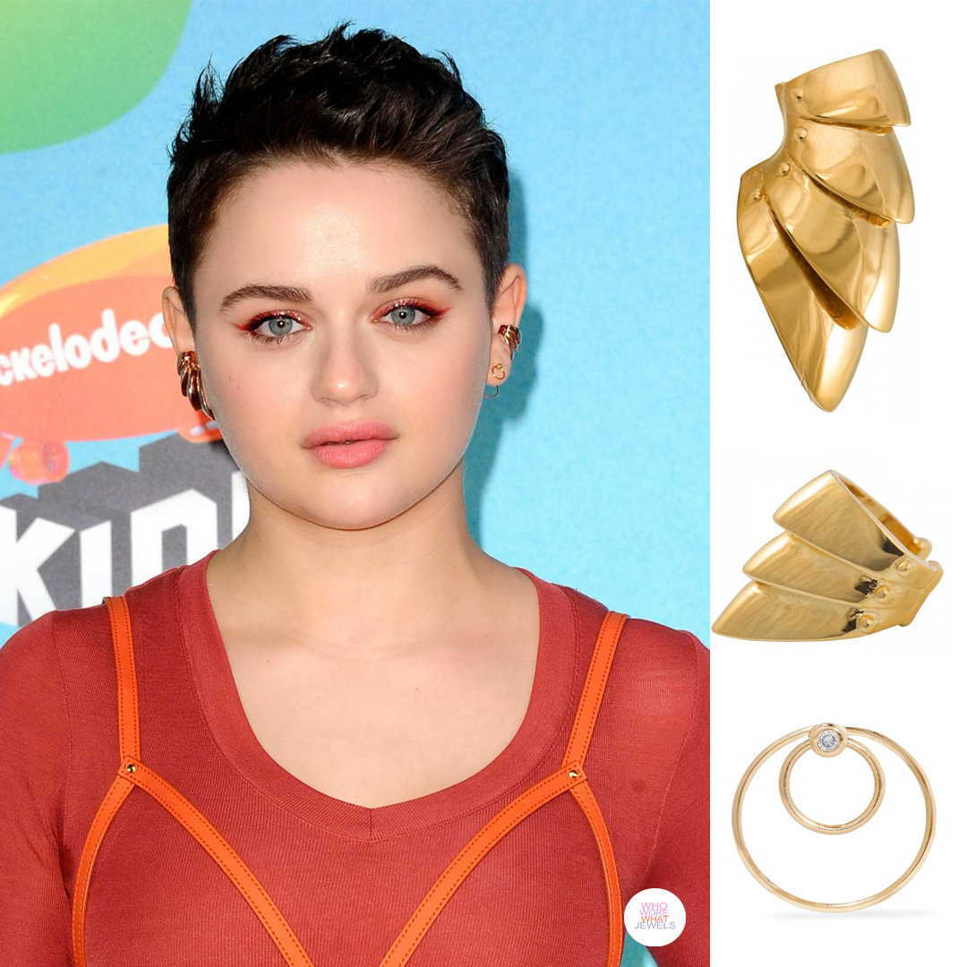 a6189bdbf BEST OF: The Best Jewelry at The 2019 Nickelodeon Kids' Choice Awards - Who  Wore What Jewels